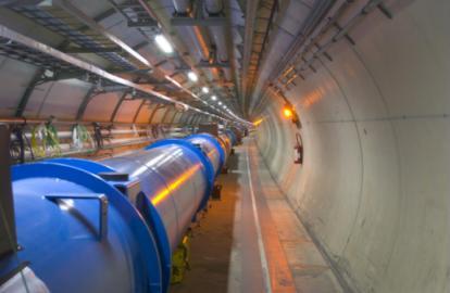 Le LHC au CERN